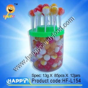 Milk Lollipop/Milk Lollipop Candy/Lollipop with Milk (HF-L154)
