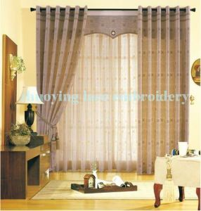 Embroidery Voile/Curtain
