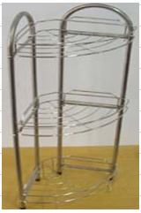Stainless Steel Net Basket (AW-3630)