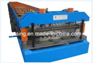 10-20M/Min Metal Deck Roll Forming Machine High Strength with Big Wavelength (YD-0226)