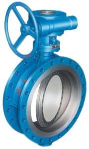 Triple Offset Metal Seated Butterfly Valve with Gear Operation (D343H-16C) pictures & photos