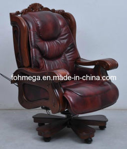 Luxury Ergonomic Design Leather Electric Massage Boss Chair (FOH-A01) pictures & photos