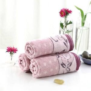 100%Cotton Yarn Dyed Jacquard Towel
