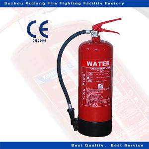 6L Water Fire Extinguisher with Bsi CE Certification