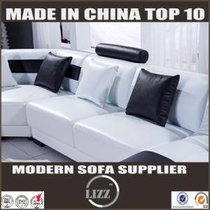 LED Light Sofa Wooden Sofa Set Designs U Shape Couches pictures & photos