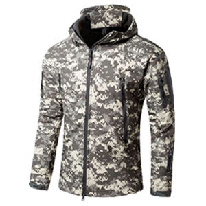 Insulated Softshell Jacket with Fleece Lining for Sale (QF-4123) pictures & photos