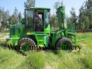 Supply Double Front Steel Tires Rought Terrain Forklift pictures & photos