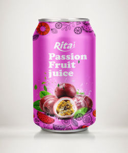 Whosaler 330ml Passion Fruit Juice Drink pictures & photos