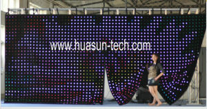 Soft LED Visual Screen for Stage pictures & photos