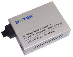 Ethernet to Optical Fiber Tranciever (UT-2177SM/MM)