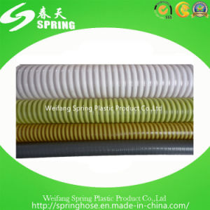 PVC Plastic Reinforced Spiral Heavy Duty Suction Hose for Irrigation pictures & photos