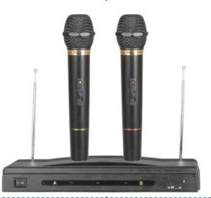 Wire & Wireless Microphone (EGM306W) Good Quality pictures & photos