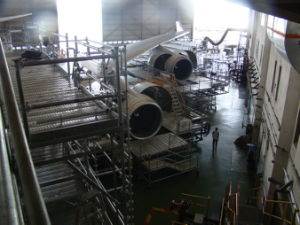Aircraft Maintenance Platform Steel Scaffolding pictures & photos