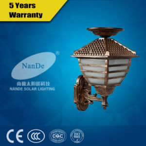 High Quality LED Solar Outdoor Wall Light pictures & photos