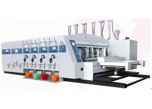 High Speed Flexo Printing Slotting Die Cutting
