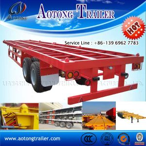 2016 Skeleton 40FT Container Trailer with Function to Transport All Kind Containers pictures & photos