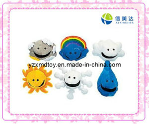 New Design Plush Cute Weather Puppets pictures & photos