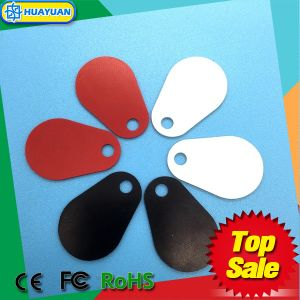 Logo printing durable Pear Glassfiber RFID Keyfob pictures & photos