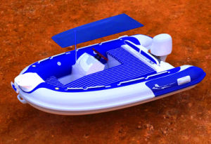 So Eye Catching Fiberglass Hull Versatile Rib Boat with CE China pictures & photos