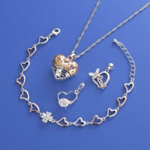 Jewelry Set with CZ Fashion Necklaces pictures & photos