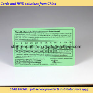 Medical Card PVC Card with Signature for Hospital pictures & photos