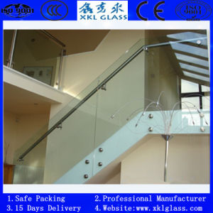Tempered Glass for Balcony with CE & ISO & CCC Aprproved