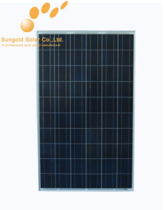 Poly Crystalline 200W 27V Solar Panel (SGP-200W) pictures & photos
