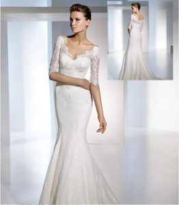 Short Wedding Dress on Short Sleeve Lace Bridal Dresses  Xz010    China Wedding Dresses