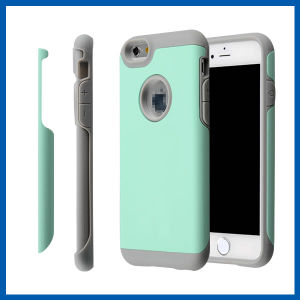 Soft Interior Hard Back PC Phone Case for iPhone 6s pictures & photos
