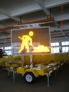 Vms Sign Trailer LED Arrow Board pictures & photos