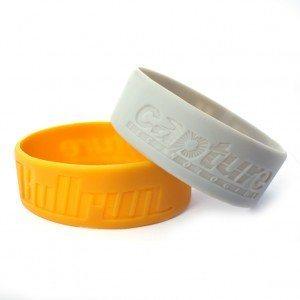 1 Inch Silicone Baller Bands/Wristbands/Custom Bracelet