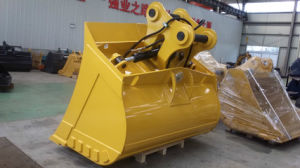 Excavator Attachments of The 20t 2200mm Width Tilt Mud Bucket pictures & photos