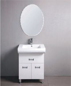 PVC Bathroom Cabinet Sanitary Ware Small PVC Flooring Cabinet