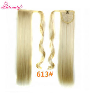"""Ponytail Long Straight Hair Pieces 22"""" Ponytail Hair Wholesale pictures & photos"""