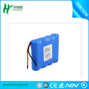 Li-ion Battery Pack 18650 14.8V 2200mAh pictures & photos