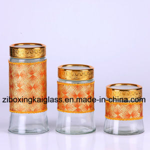 Glass Product with Straw