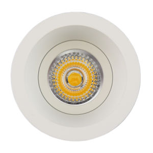 Aluminum Die Casting GU10 MR16 Round Fixed Recessed LED Ceiling Light (LT2120) pictures & photos