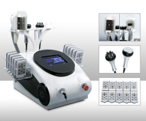 Beauty Equipment for Body Slimming Cryolipolysis Lipo Laser Cavitation RF Weight Loss Machine pictures & photos