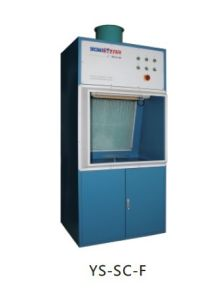 CE Listed Small Spray Cabinet Settle Bench Spray Booth pictures & photos