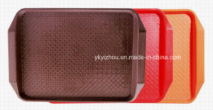 Plastic Food Tray for Restaurant / Hotel / School pictures & photos