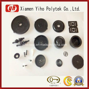 NBR/Sil/EPDM/Silicone Molded Rubber Diaphragms for Diaphragm Pump pictures & photos