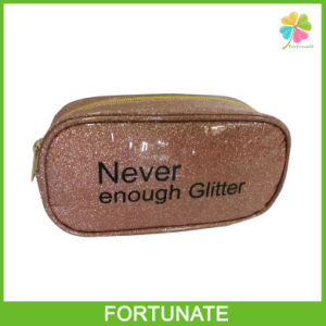 Fashion Shiny Glitter Cosmetic Bag Gift Bag with Zipper pictures & photos