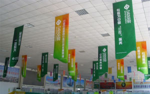 Hanging Fabric Banner for Shopingmall Promotion (tx025) pictures & photos