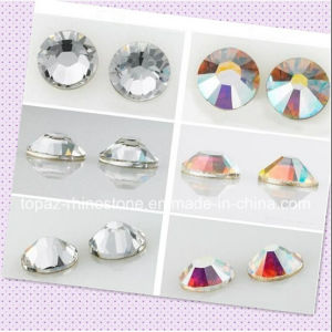 Ss10 Mc Silver Plating Glue on Crystal Rhinestones Nail Art Stone (FB-ss10 crystal) pictures & photos