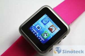 Watch Mobile Phone J2 Quadband Touch Screen (SKU DD006)