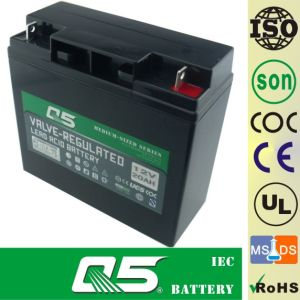 12V18AH Solar Battery GEL Battery Standard Products; Family Small solar generator solar storage batteries pictures & photos