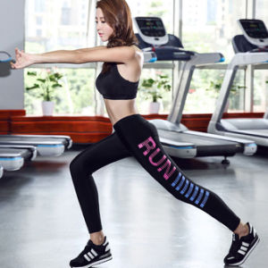 Fashion Clothes Nylon Spandex Screen Printing Compression Tights pictures & photos
