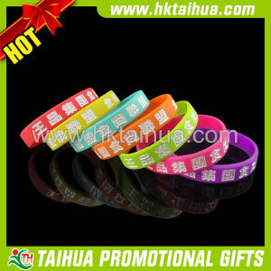 2017 Lovely Powerful Silicone Bracelet (TH-band005) pictures & photos