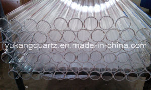 High Quality Clear Quartz Glass Tube pictures & photos