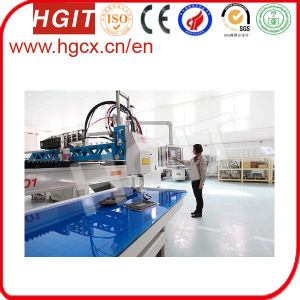 Polyurethane (PU) Gasket Foam Seal Dispensing Machine for Ventilation Parts pictures & photos